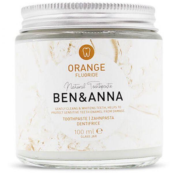 Ben & Anna Zahnpasta Orange mit Fluorid