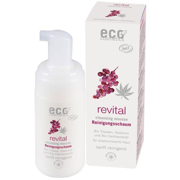 Eco Cosmetics Reinigungschaum mit OPC Q10 und Hyaluron