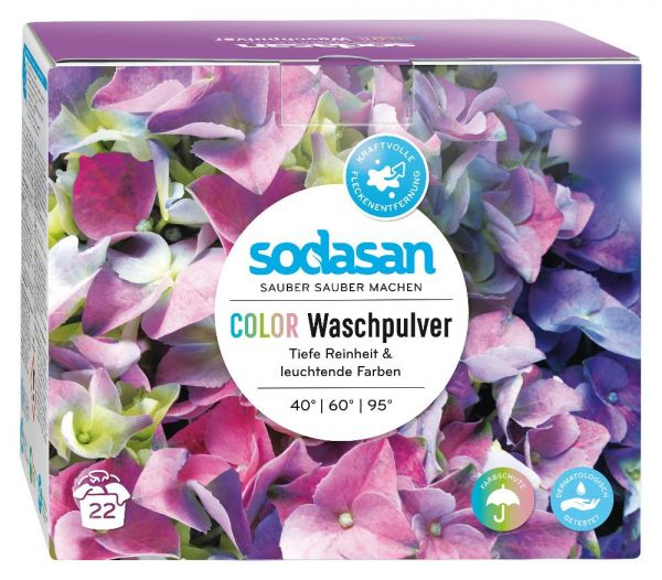 Sodasan Compact Color Waschmittel 1,2kg