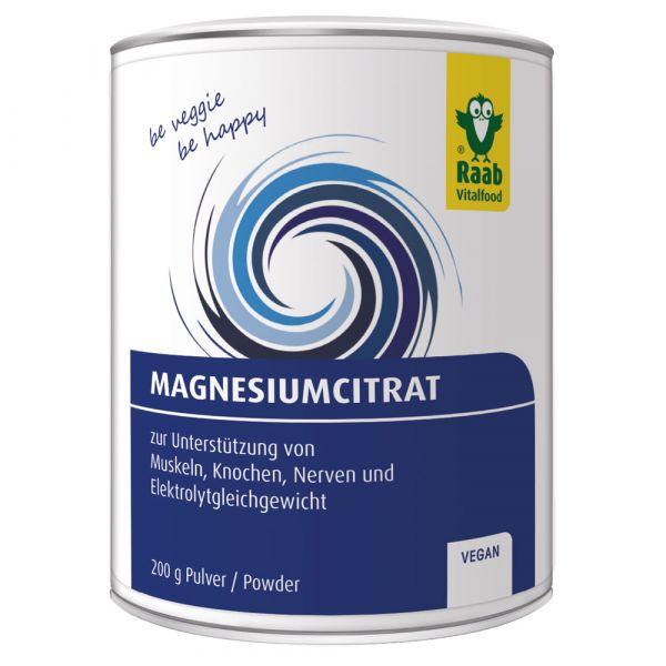 Raab Vitalfood Magnesiumcitrat Pulver