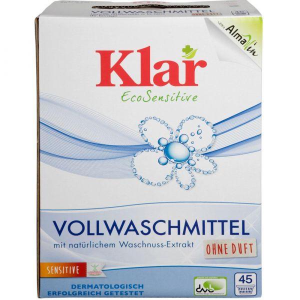Klar Vollwaschmittel Pulver 2,75Kg