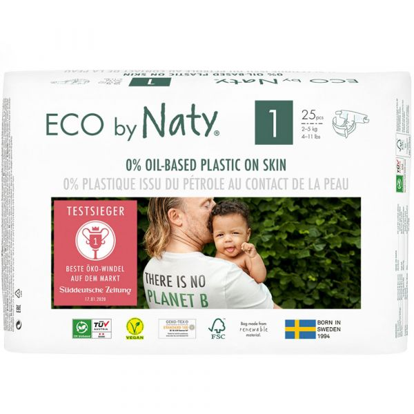 Naty Eco Windel Größe 1 2-5 kg