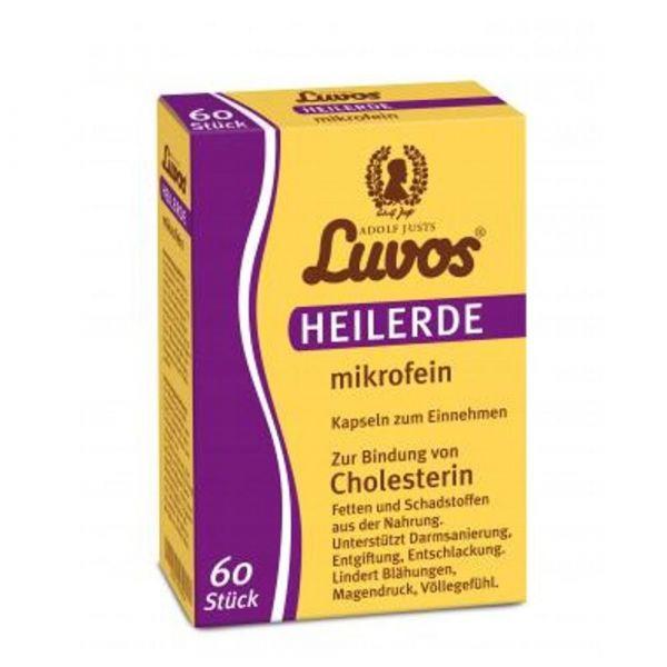 Luvos Heilerde Kapseln mikrofein 60 Stück