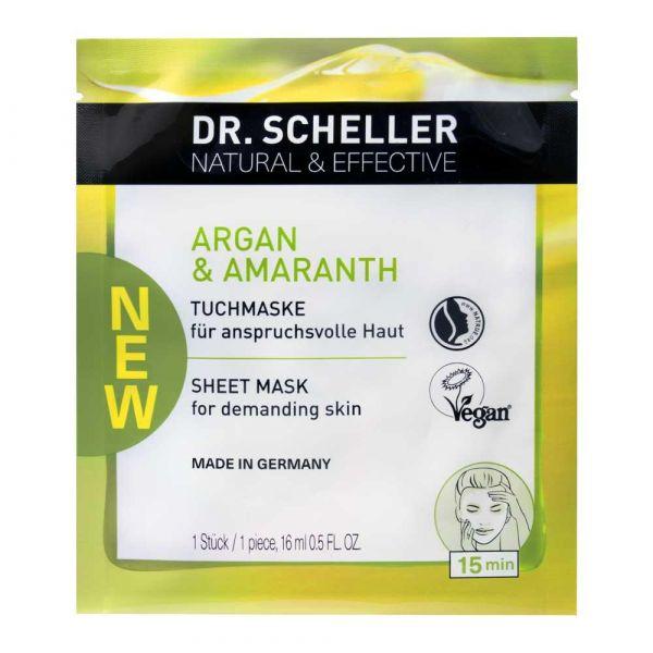 Dr. Scheller Argan & Amaranth Tuchmaske