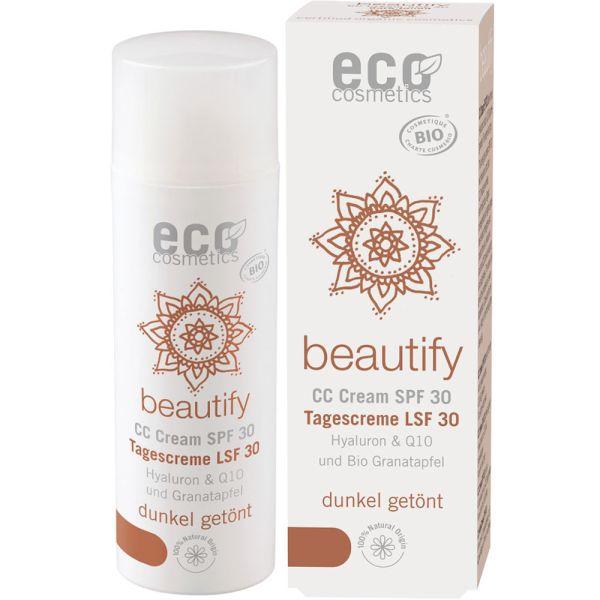 Eco Cosmetics CC Creme LSF 30 dunkel