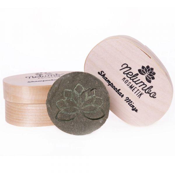 Nelumbo Kosmetik Shampoobar Minze