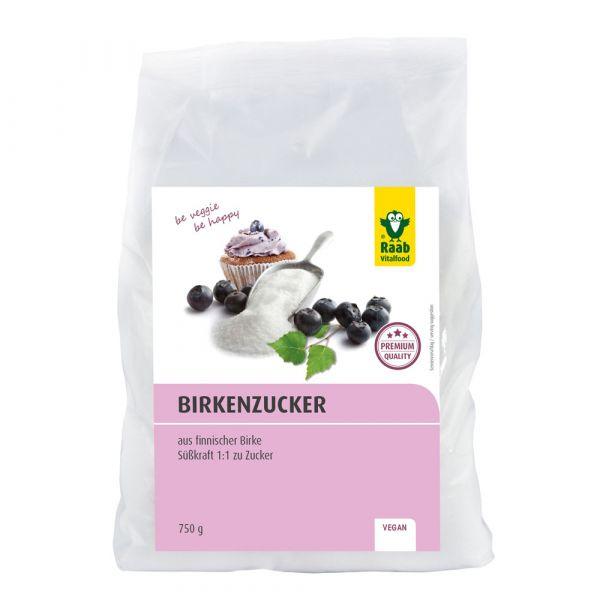 Raab Vitalfood Birkenzucker Premium 750g