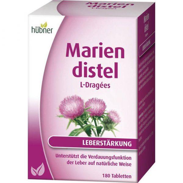 Hübner Mariendistel L-Dragées