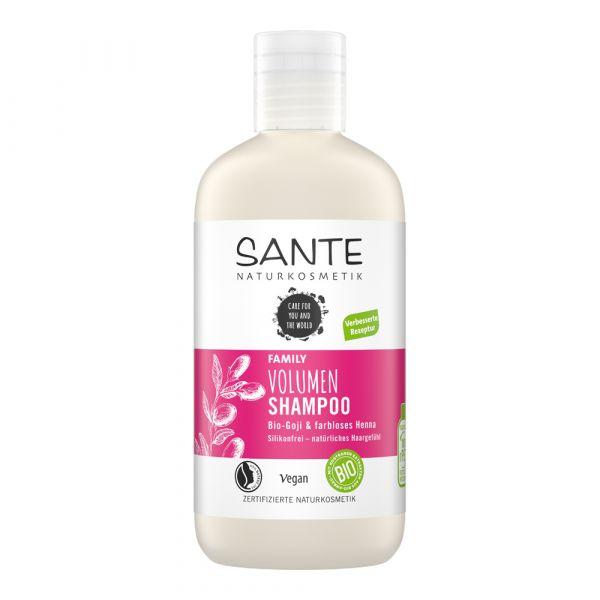 Sante Volumen Shampoo Bio-Goji & farbloses Henna