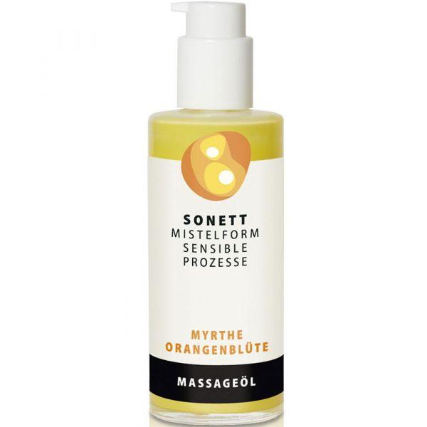 Sonett Massageöl Myrthe-Orangen