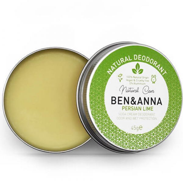 Ben & Anna Deo Creme Metalldose Persian Lime