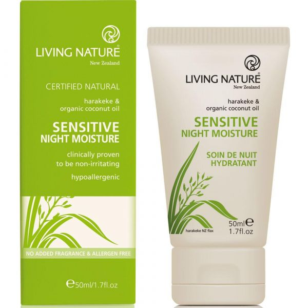 Living Nature Sensitive Nachtcreme