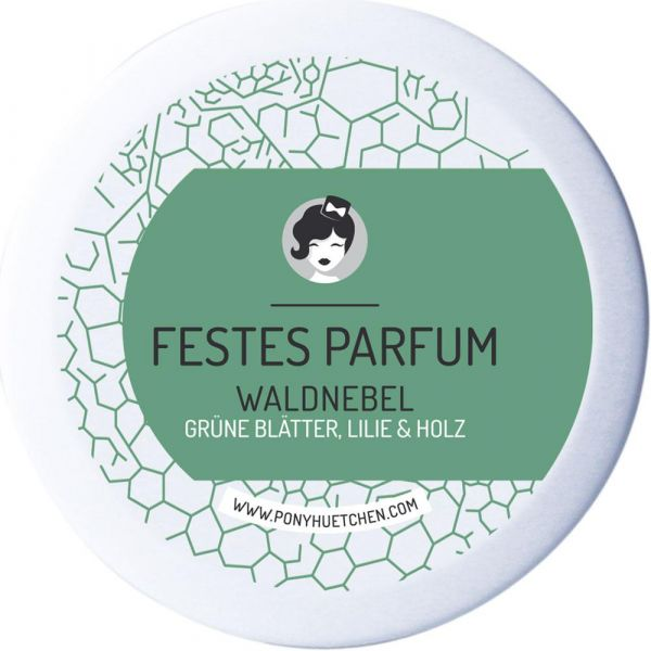 Ponyhütchen Festes Parfum Waldnebel