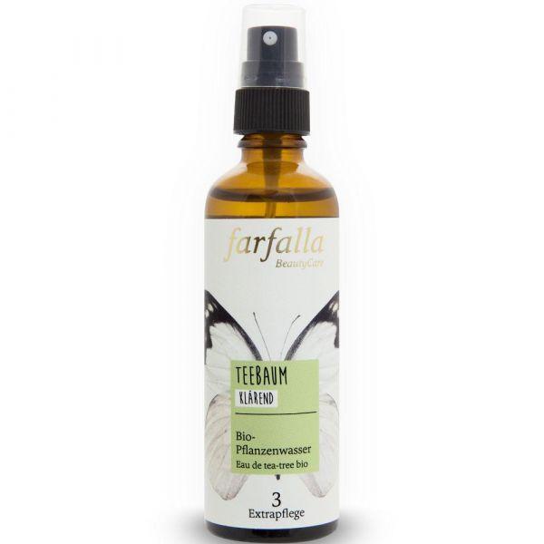 Farfalla Teebaum Bio-Pflanzenwasser 75ml klärend