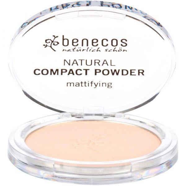 Benecos Compact Powder porcellaine