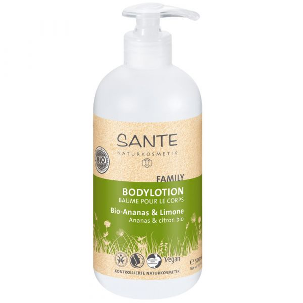 Sante Family Bodylotion bio Ananas & Limette 500ml