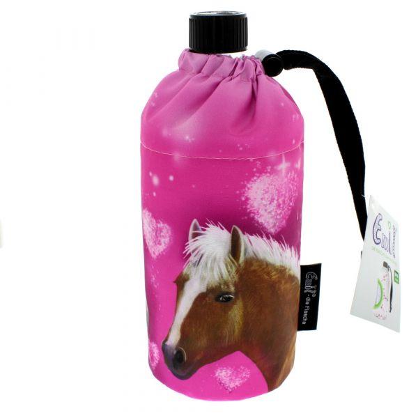 Emil Flasche Pink Horse 0,4 Liter