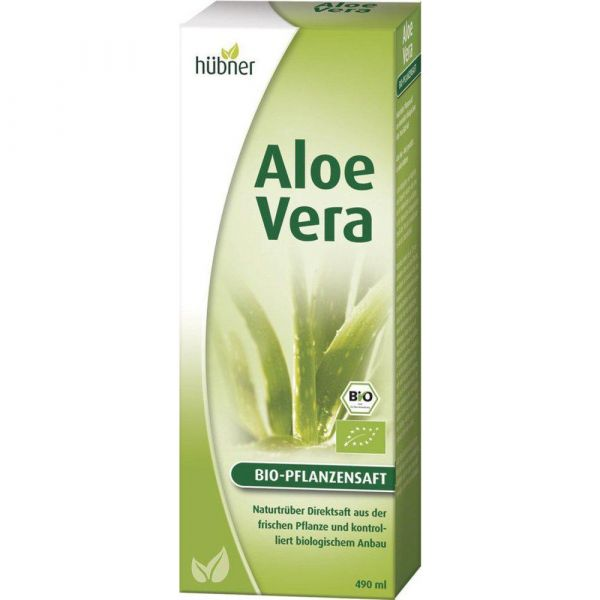 Hübner ALOE VERA BIO-Pflanzensaft 490ml