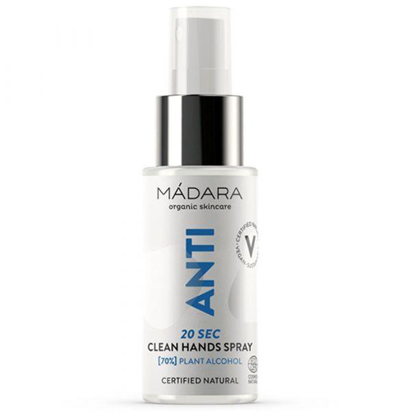 Madara ANTI 20sec Clean Hands Spray