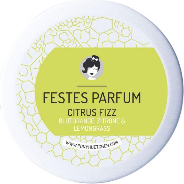 Ponyhütchen Festes Parfum Citrus Fizz