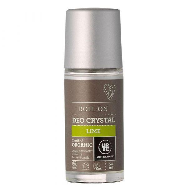 Urtekram Limette Kristall Deo Roll On 50ml