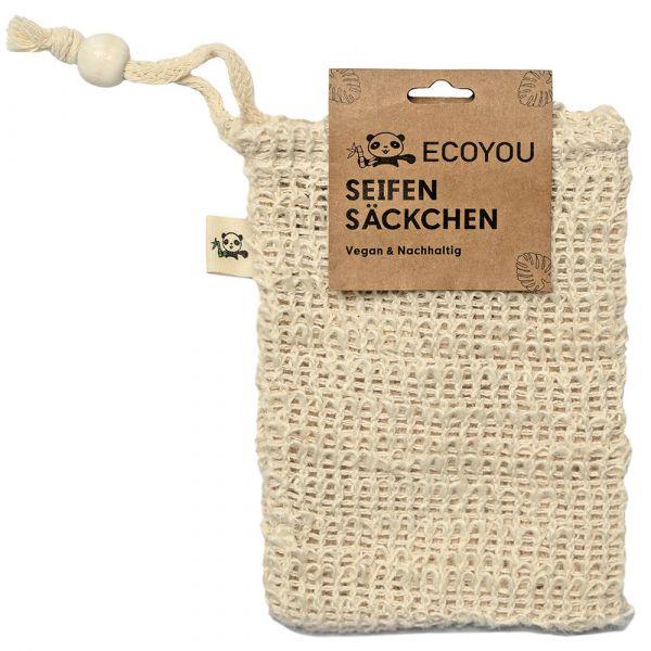 ECOYOU Seifensäckchen aus Sisal