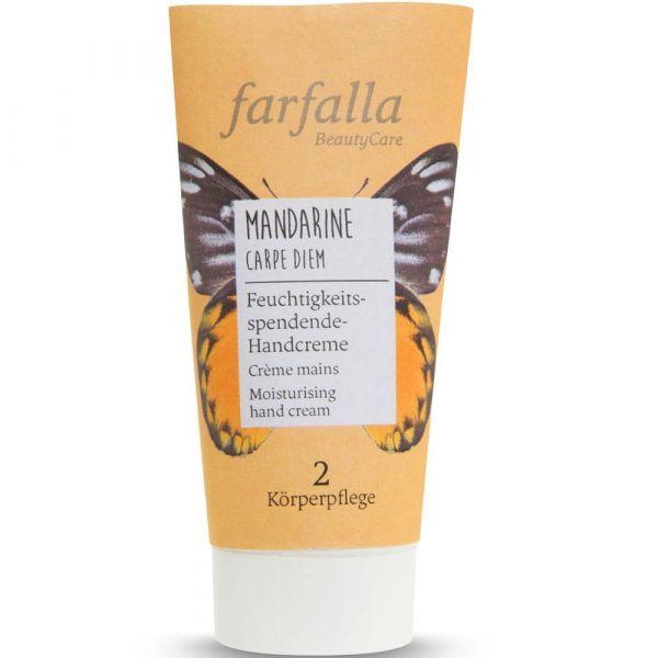 Farfalla Mandarine Carpe Diem Feuchtigkeitsspendende Handcreme 50ml