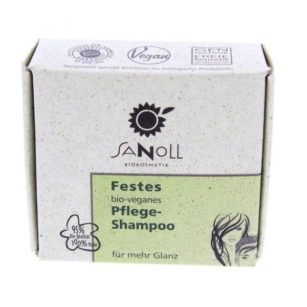 Sanoll Festes bio veganes Pflege Shampoo