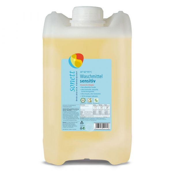 Sonett Flüssigwaschmittel sensitiv 5 Liter