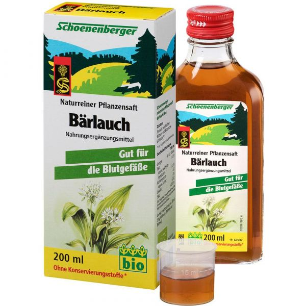 Schoenenberger Bärlauch-Saft