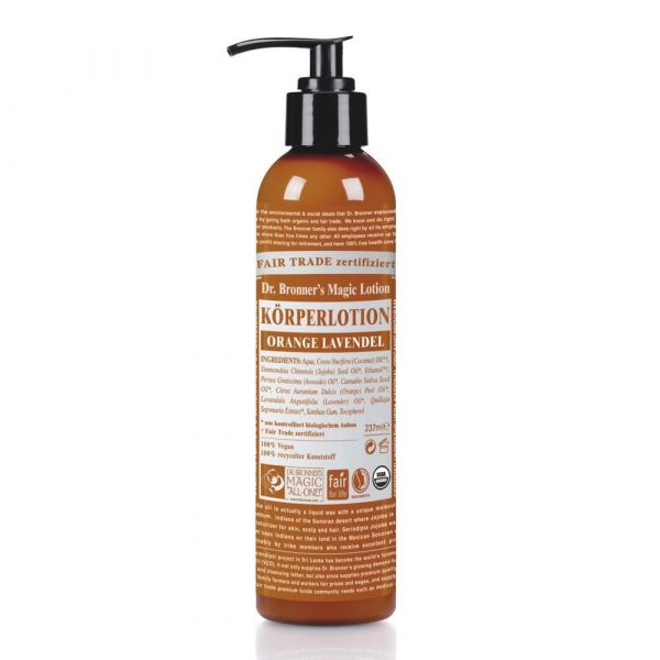 Dr. Bronner´s Body Lotion Orange Lavendel