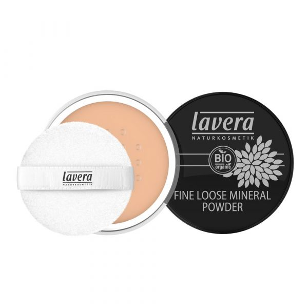 Lavera FINE LOOSE MINERAL POWDER Honey 03