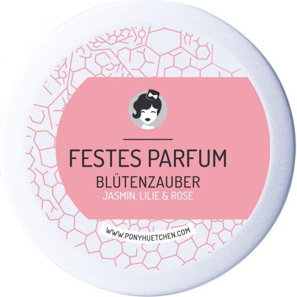 Ponyhütchen Festes Parfum Blütenzauber