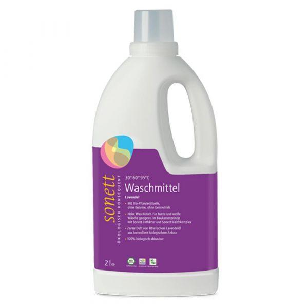 Sonett Flüssigwaschmittel Lavendel 2 Liter