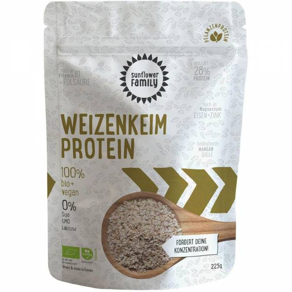 Sunflower Family Weizenkeimprotein bio