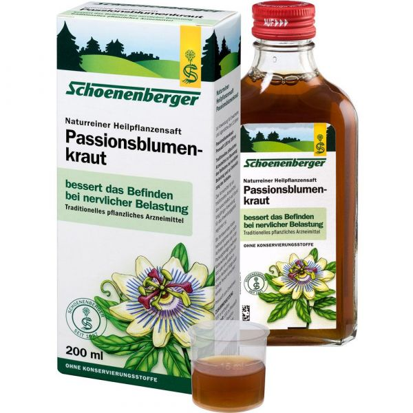 Schoenenberger Passionsblumenkraut Saft