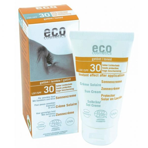 Eco Cosmetics Sonnencreme LSF 30 getönt