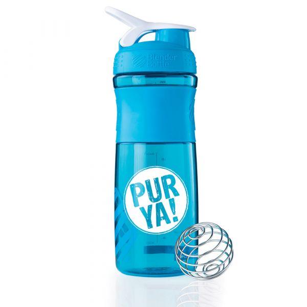 Purya Shaker Aqua White
