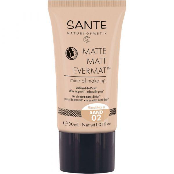 Sante MATTE MATT EVERMAT mineral make up 02 Sand