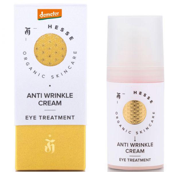 Hesse Organic Skincare ANTI WRINKLE CREAM EYE TREATMENT