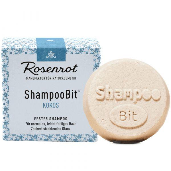 Rosenrot festes Shampoo Kokos