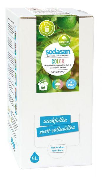 Sodasan Color Waschmittel Limette 5 Liter