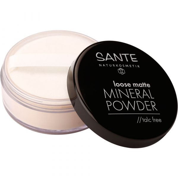 Sante loose matte MINERAL POWDER 01 Light Beige