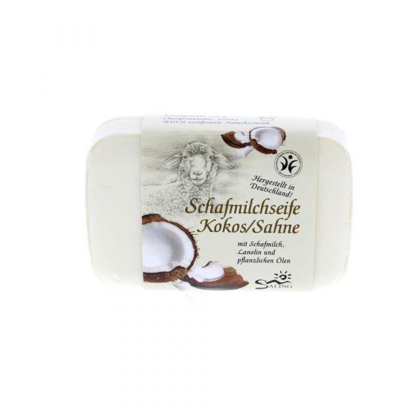 Saling Schafmilchseife Kokos Sahne