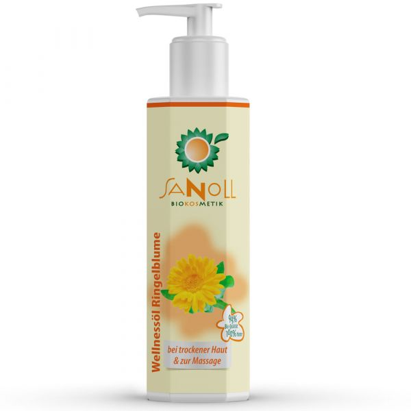 Sanoll Wellnessöl Ringelblume 150ml