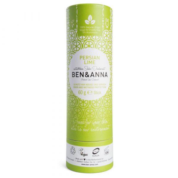 Ben & Anna Deodorant Papertube Persian Lime