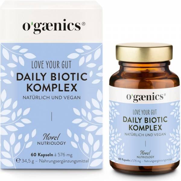 Ogaenics LOVE YOUR GUT DAILY BIOTIC-KOMPLEX 60 Kapseln