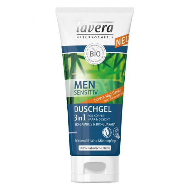 Lavera Men Sensitiv Duschgel 3 in 1