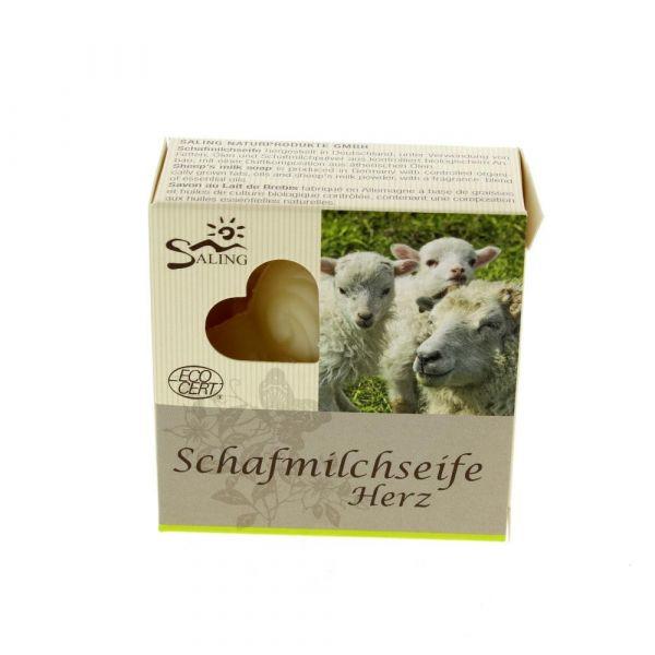 Saling Schafmilchseife Herz
