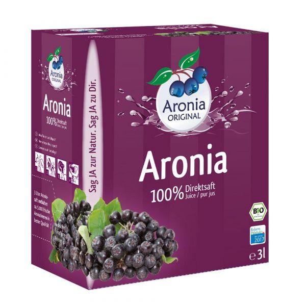 Bio Aroniasaft 100% Direktsaft 3 Liter